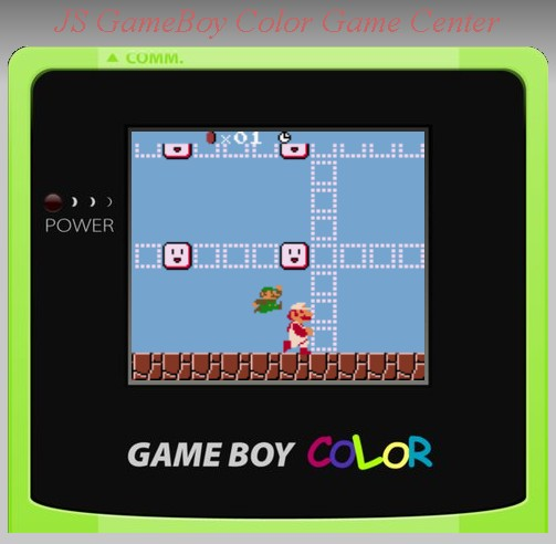Main Game Klasik dengan GameBoy Color Emulator