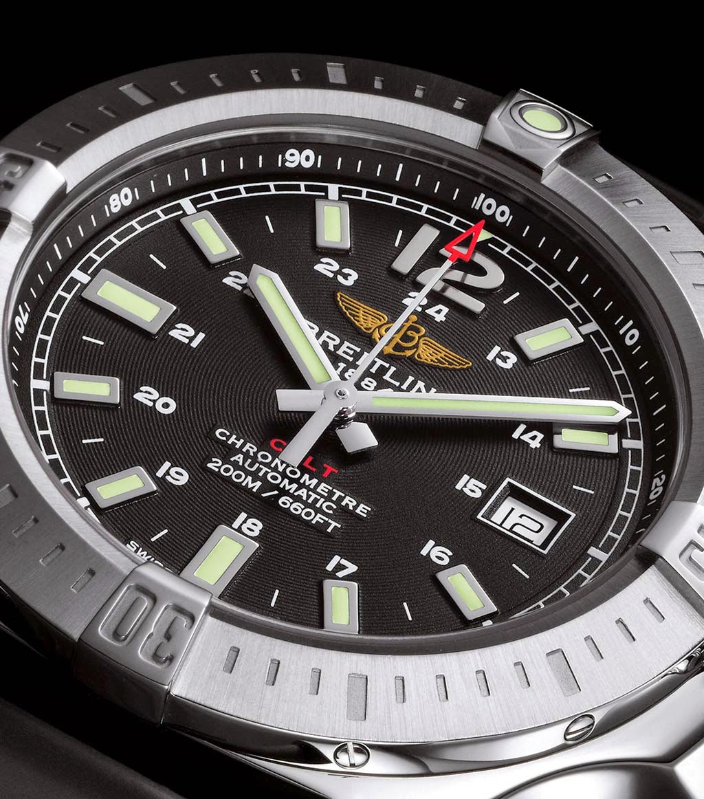 breitling - Nouvelle Breitling Colt 2014 Breitling-Colt-Automatic-2014-Dial-Black