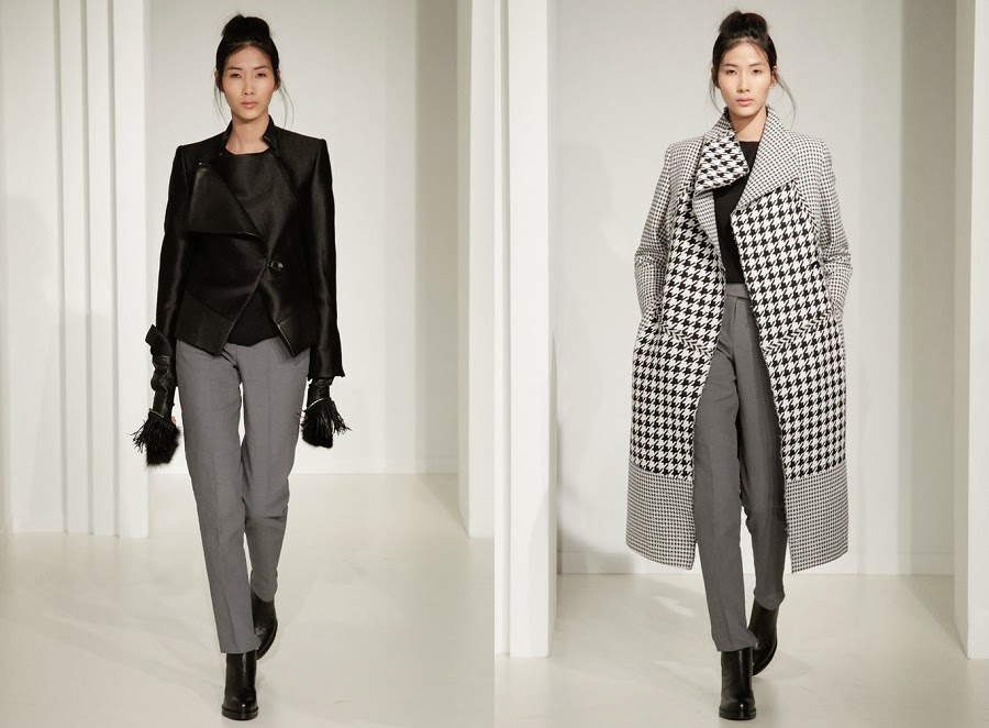 Asian models blog london fashion week fall winter 2014 for Koch xiao wang