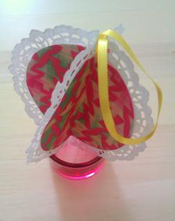 DIY: Papierové vianočné gule