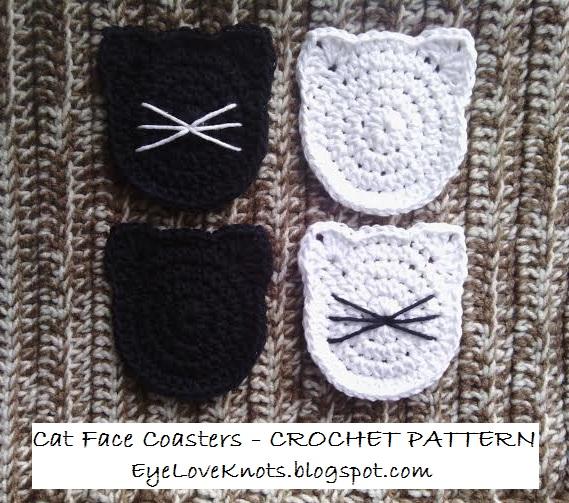 Free Crochet Pattern Cat Coasters Legitefo For
