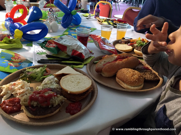 Food and drink at the In The Night Garden Party, CBeebies Land