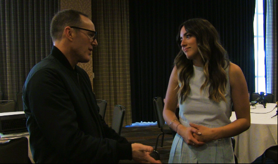 Agents of SHIELD - SpoilerTV Comic-Con Interviews w/ Cast, EP