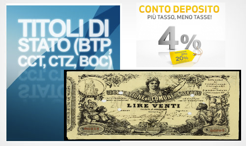 Conti Deposito, BOT o Obbligazioni Bancarie?