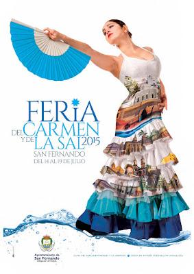 SAN FERNANDO Feria del Carmen y de la Sal 2015 Grupo Detank