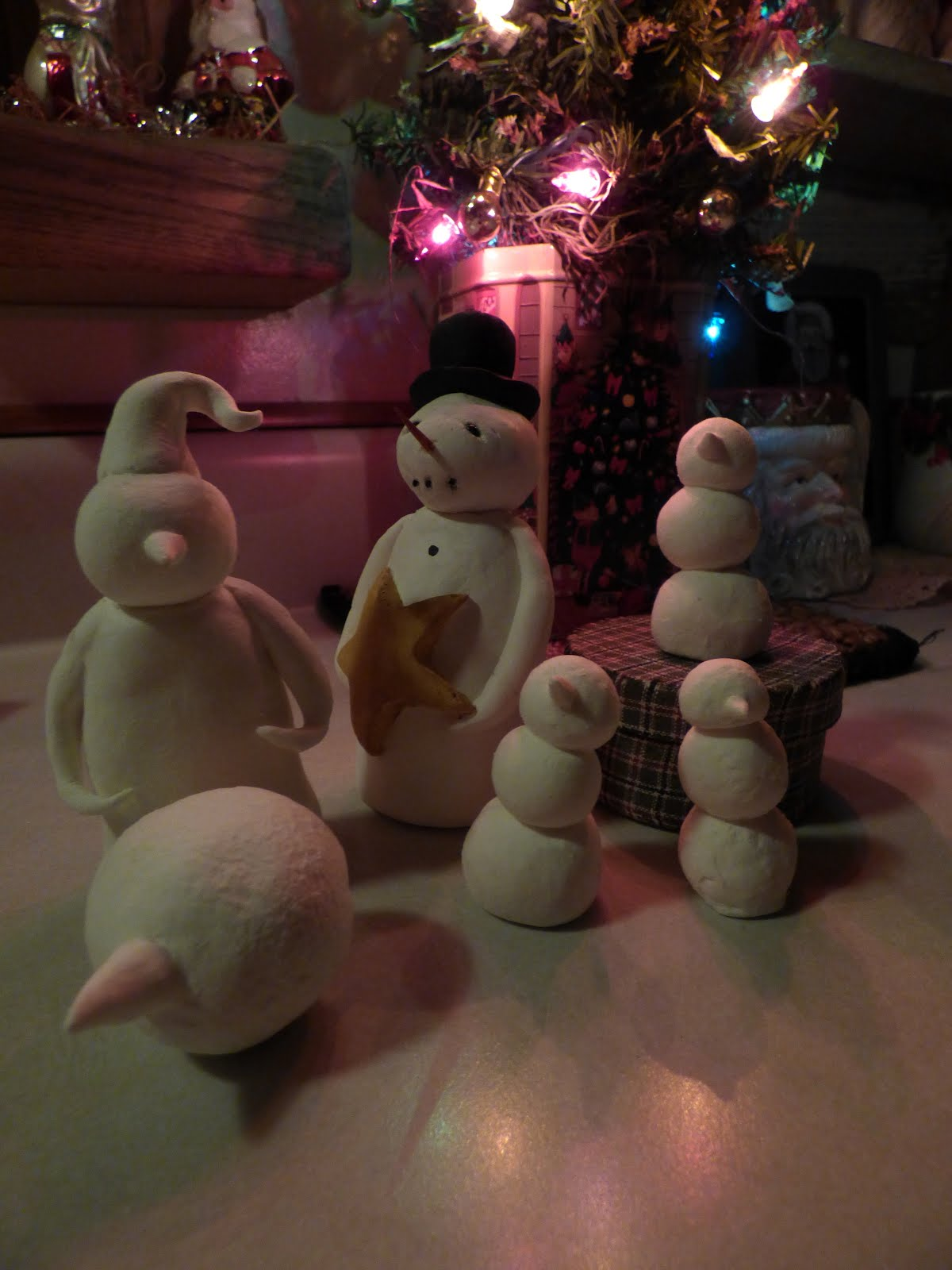 Making snowmen for projects