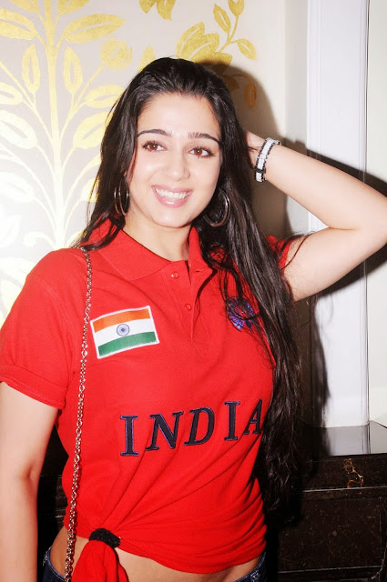 Charmi Kaur hot stills at the indian brand launch
