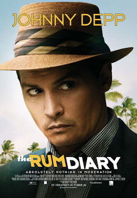 Watch The Rum Diary 2011 BRRip Hollywood Movie Online | The Rum Diary 2011 Hollywood Movie Poster