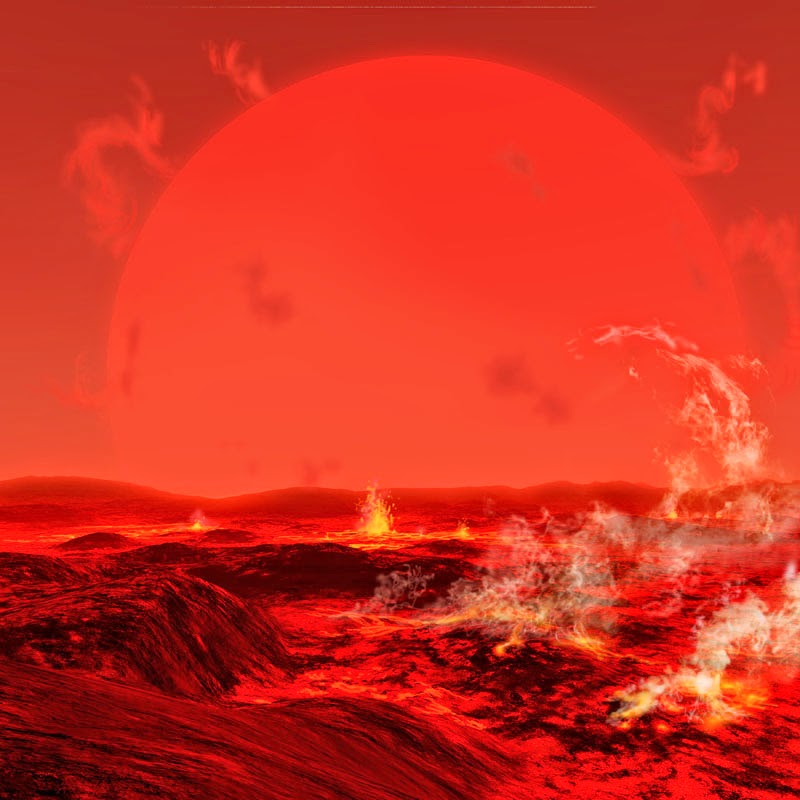 Sun as red giant