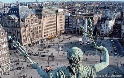 Dam Square Royal Palace of Amsterdam