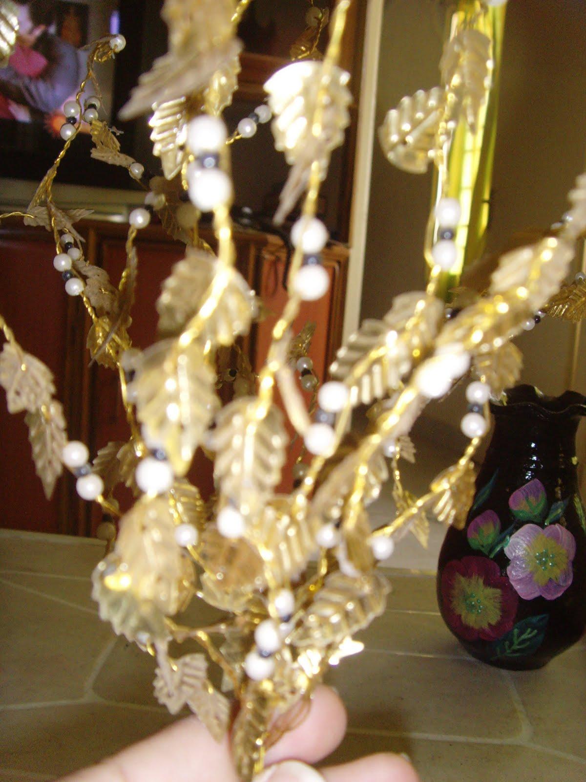 Craft Works Gold Leaf Tree