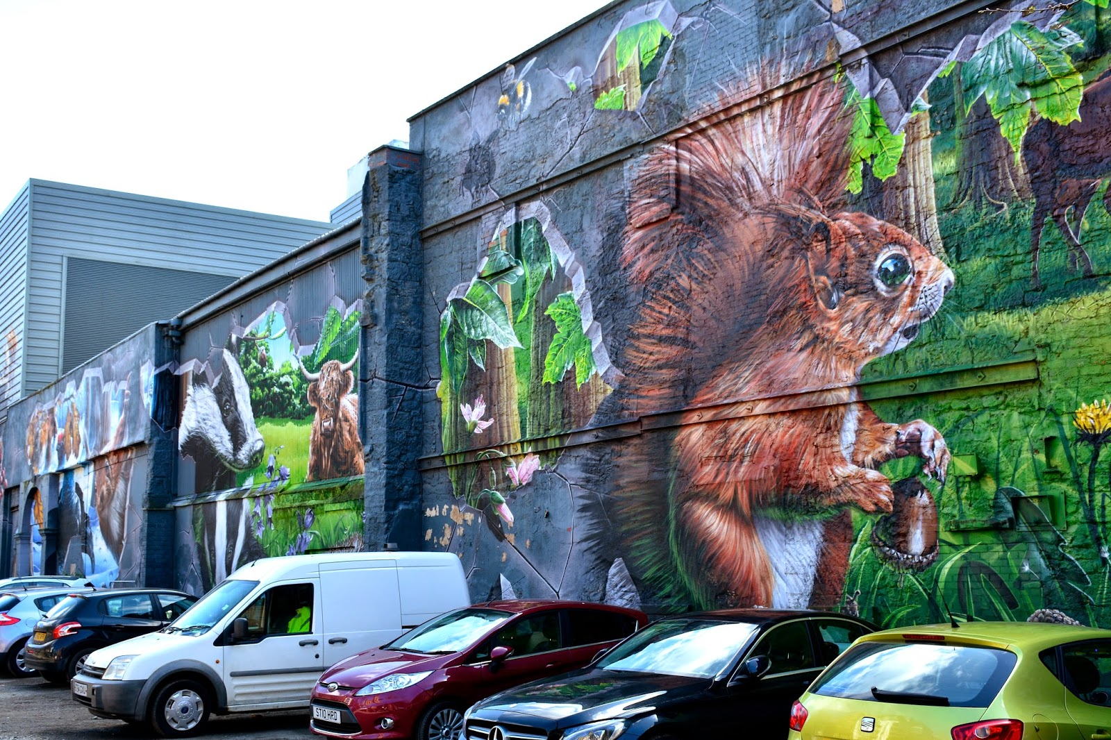 Mural on Ingram Street
