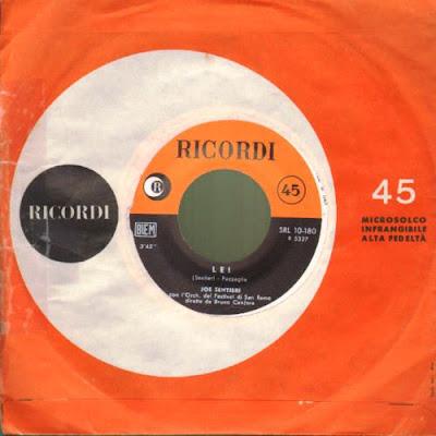 Sanremo 1961 - JOE SENTIERI - Lei