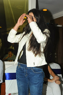 Actress Charmi Kaur Pictures in Jeans at One by Two Movie Celetes 20 Years Event  0082