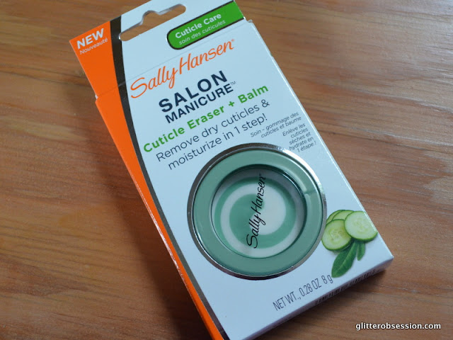 Sally Hansen Manicure Cuticle Eraser + Balm, Sally Hansen Manicure Cuticle Eraser Balm review
