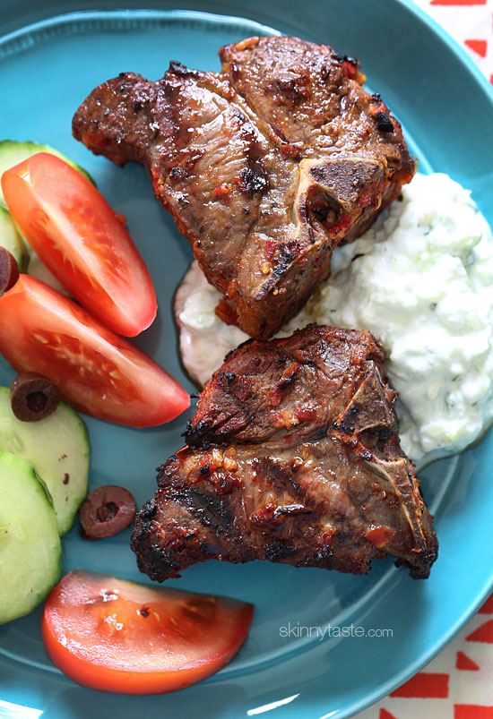 ... lamb chops grilled lamb chops with a bbq the lamb chops for 4