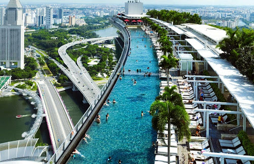 Piscina do Marina Bay Sands - Singapura