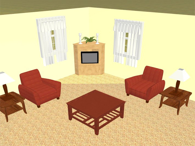 Living room furniture arrangement for Furniture placement