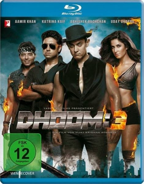 Dhoom 3 (2013) BluRay 720p BRRip 1GB