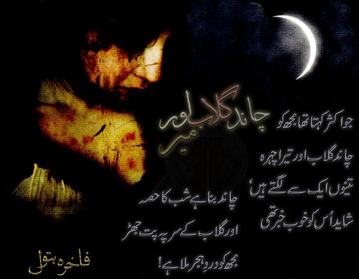 Chand Gulab Aor Meer - Fakhra Batool,design poetry, poetry Pictures, poetry Images, poetry photos, Picture Poetry, Urdu Picture Poetry,urdu poetry image