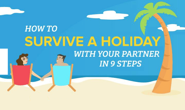 Image: How to Survive a Holiday With Your Partner