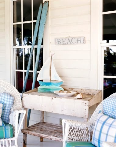 One cute nursery shabby beach cottage retreat pinterest for Summer beach decor