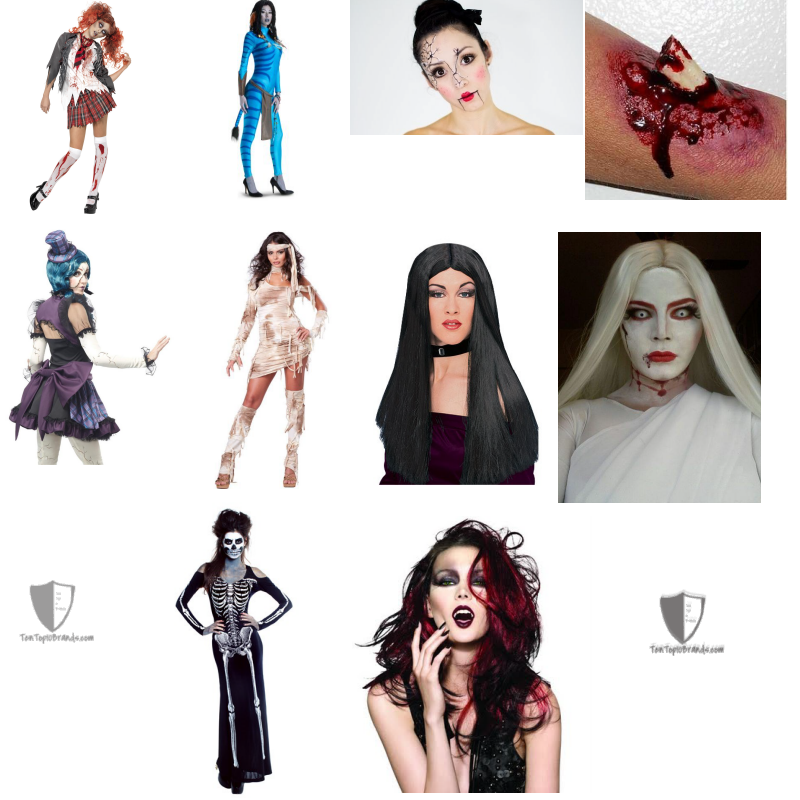 Best Halloween Scary Makeup Ideas for girls or Women 2014 | top 10 ...
