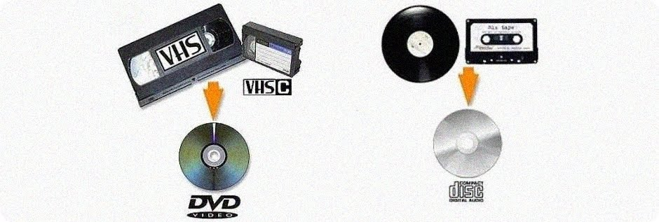 VHS para DVD-LP/K7 para CD