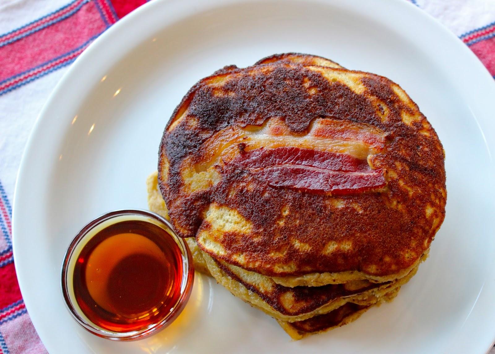 CupcakesOMG!: Paleo Bacon Pancakes