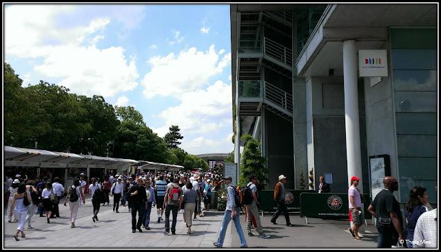 Court Phillipe-Chartrier Roland Garros 2013