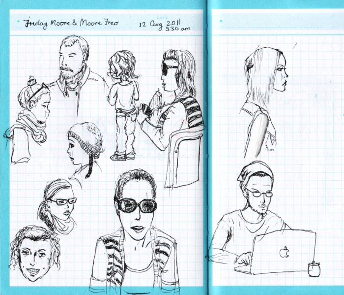Cute Cafe Drawing Drawing Cool Cute People