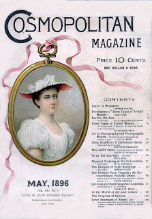 Cosmo cosmopolitan 1896 old cover
