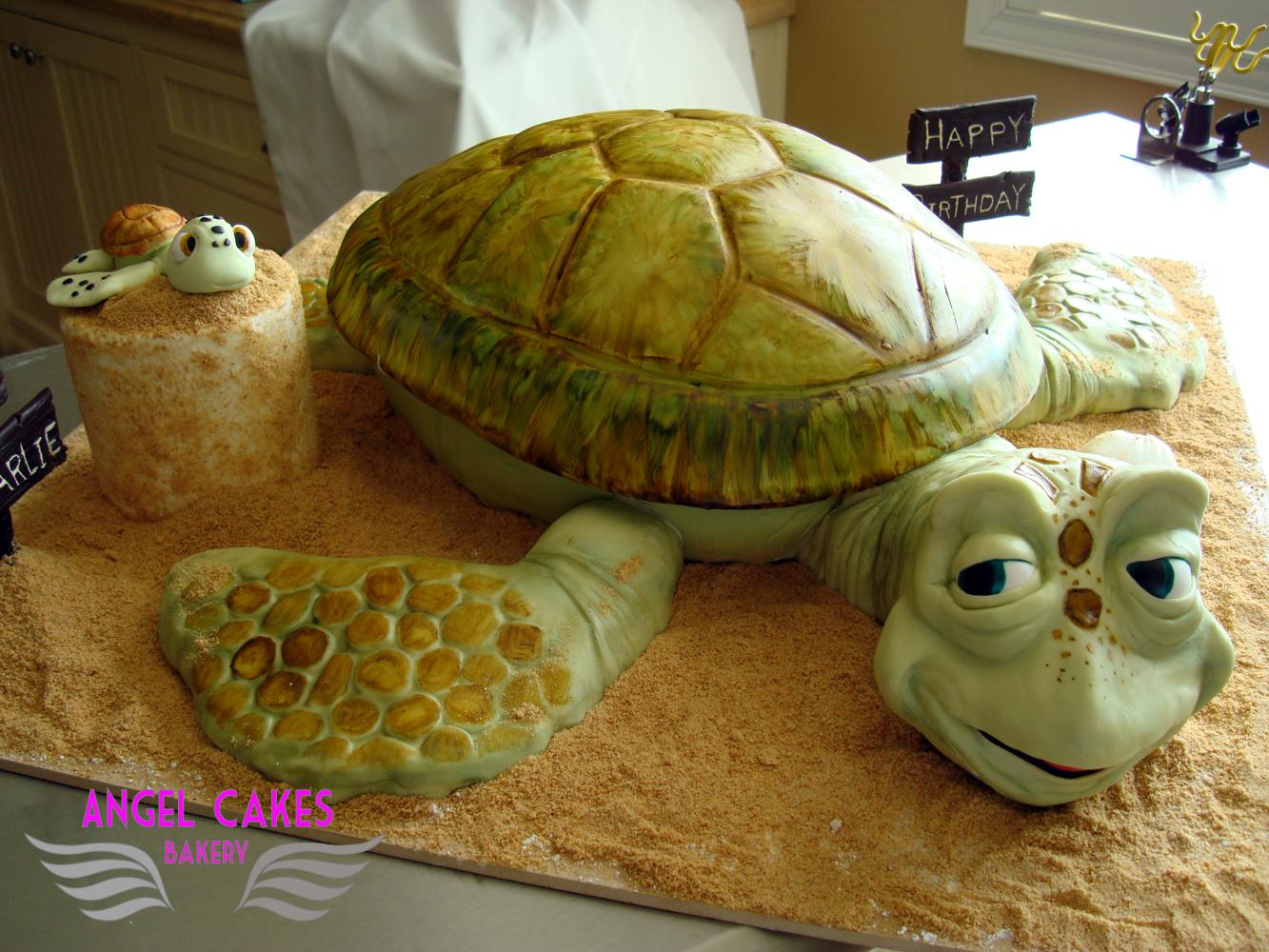 Angel Cakes Bakery Sea Turtle Cake Finding Nemo