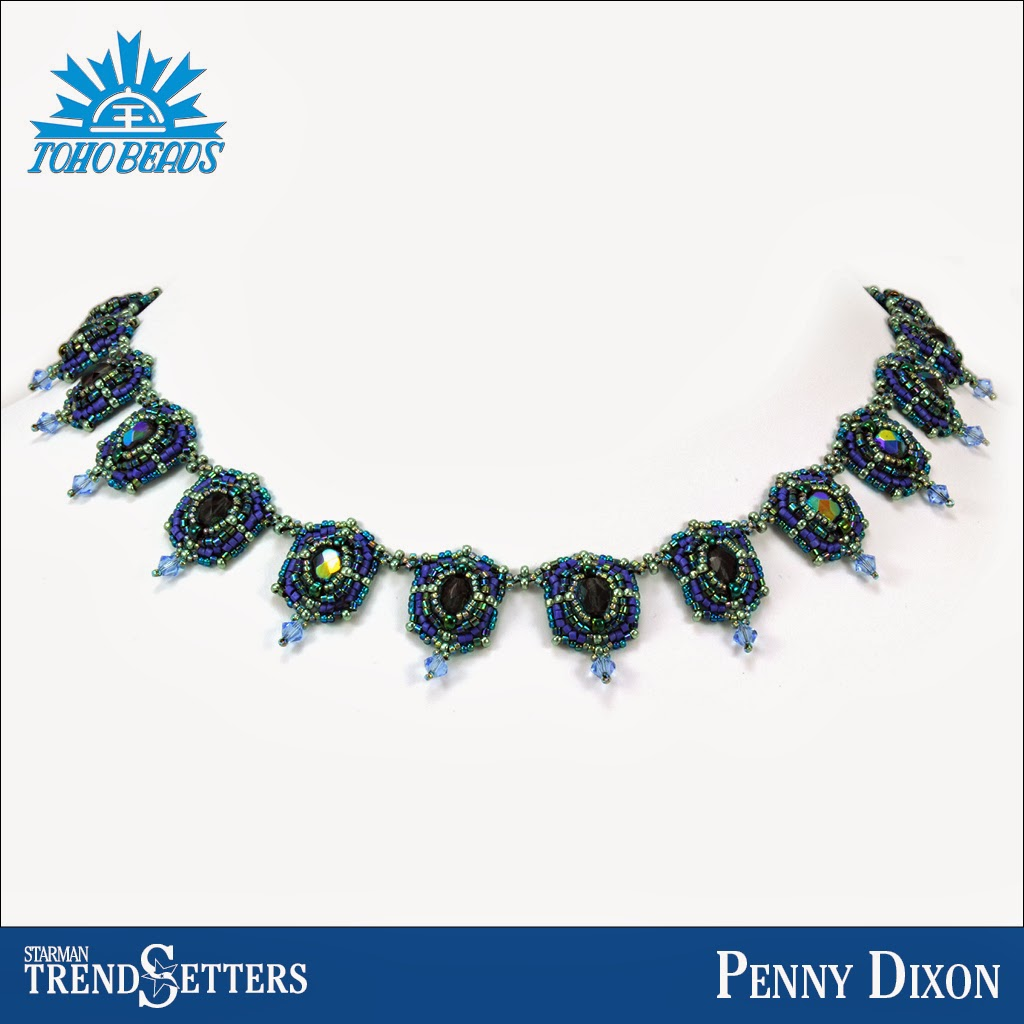 TOHO beaded necklace by Starman TrendSetter Penny Dixon