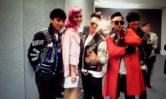 Celebrities at MTV EMA in Belfast