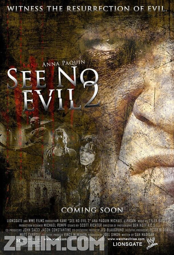 Không Thấy Ác Quỷ 2 - See No Evil 2 (2014) Poster