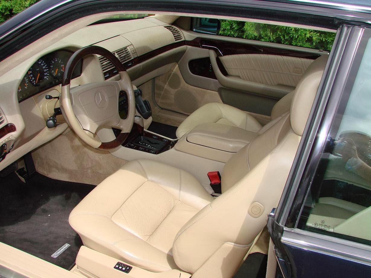 Mercedes Benz S Class Coupe C140 Sec Cl 500 140070 320 Hp Resimleri