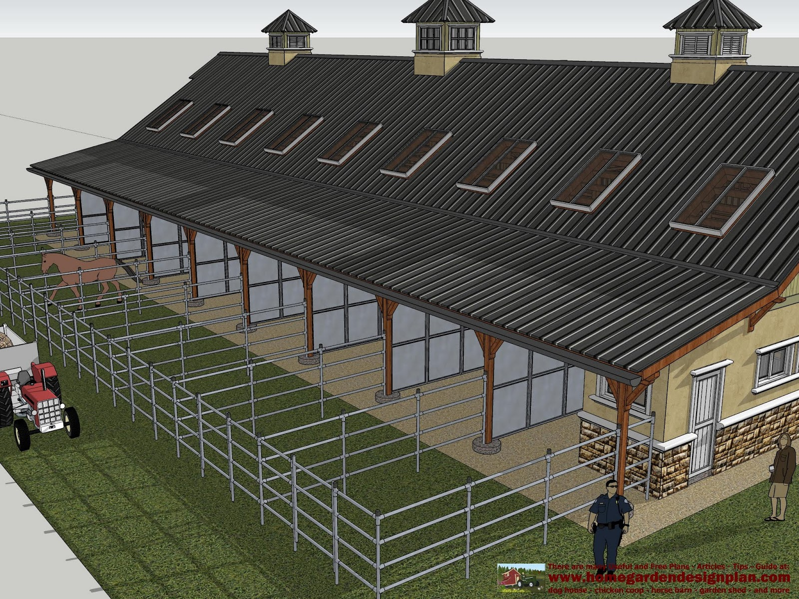 Plans further Horse Indoor Riding Arena Plans moreover Barn Living ...