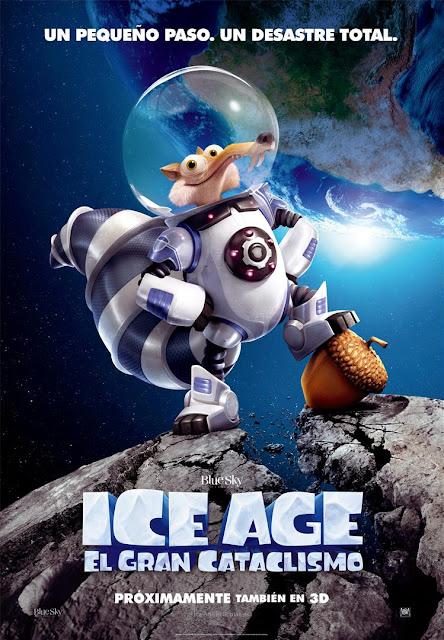 Teaser póster y primer tráiler español de 'Ice Age: El gran cataclismo'