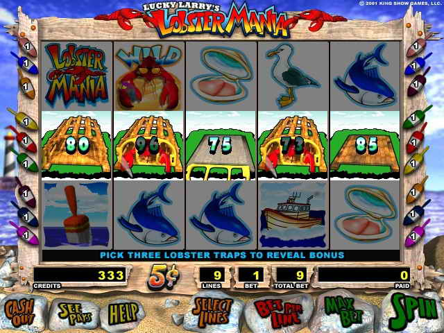larry the lobster slots free download
