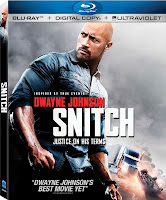 Snitch Dwayne Johnson Blu-Ray DVD Cover
