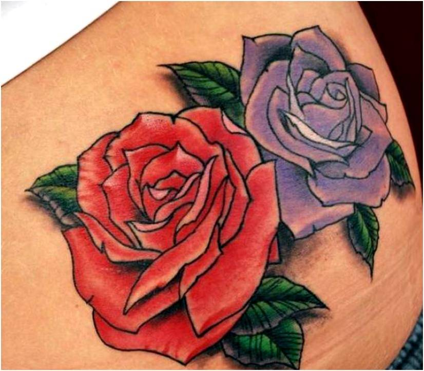 Trend Tattoo Styles: Beauty of Rose Tattoo Body Arts