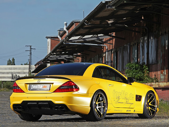 mercedes yellow