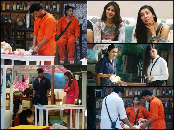 Toy making task in Bigg Boss house