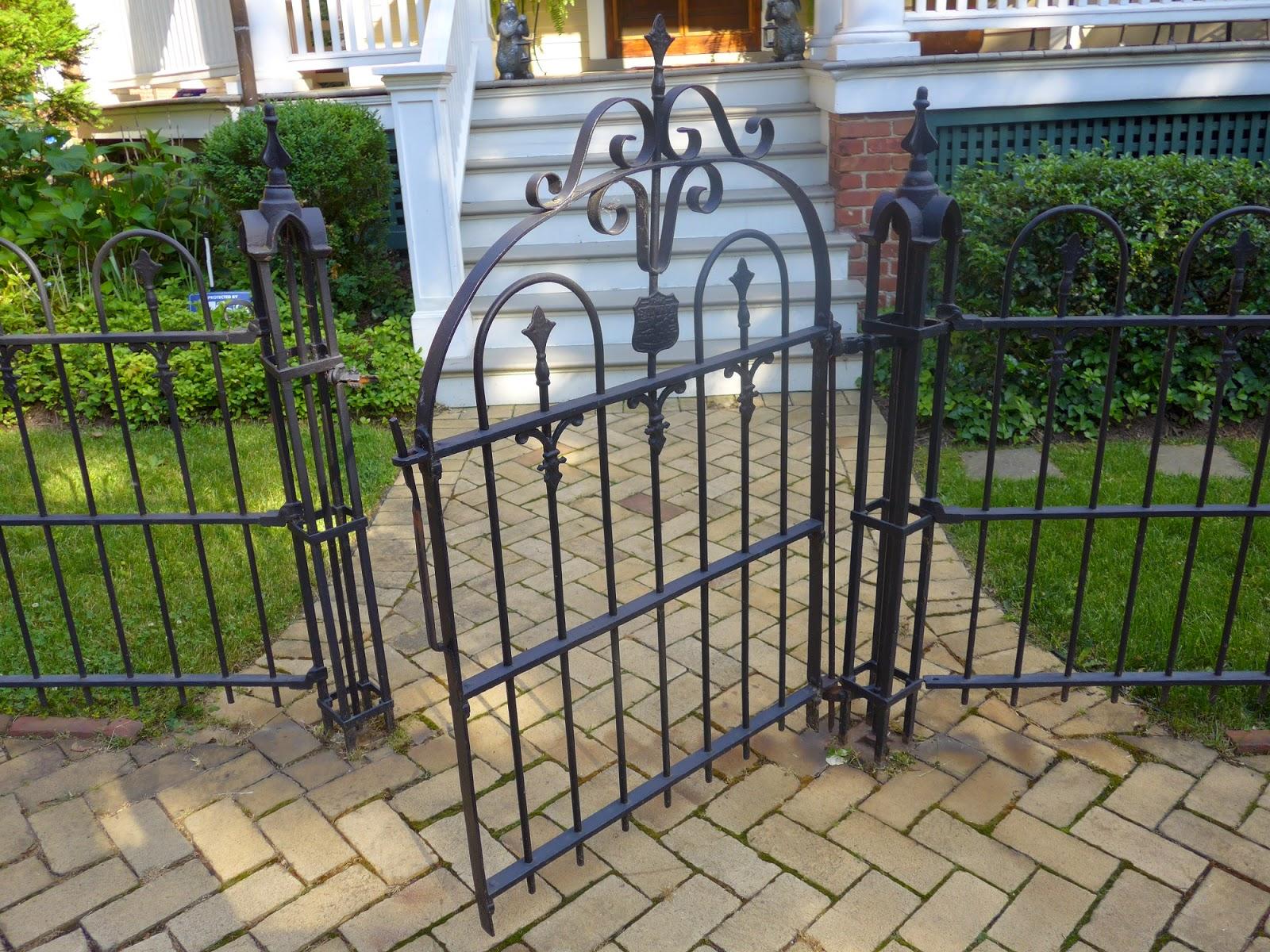 Antique Iron Fences In Annapolis Forgotten Galicia