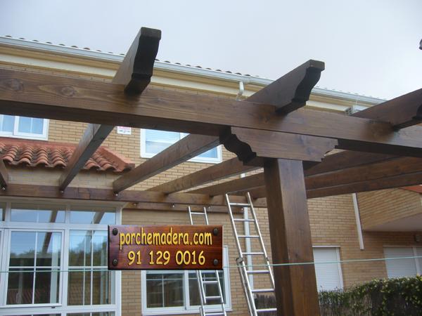 Pergolas y porches de madera - Como construir un porche ...