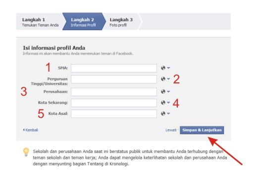 Cara Bikin Akun Facebook Bahasa Indonesia