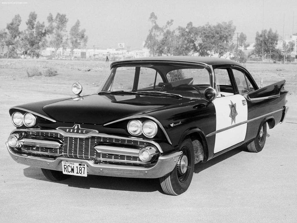 1959 Dodge Coronet Police