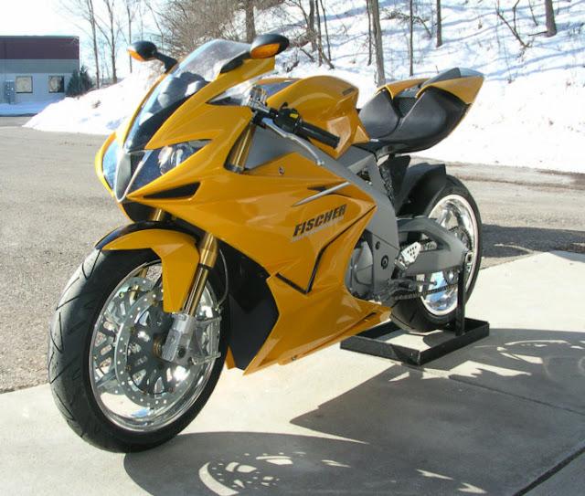 Fischer MRX Motorcycle Prototype