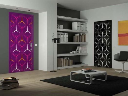 Dise o de interiores arquitectura puertas decorativas y for Puertas decorativas para interiores